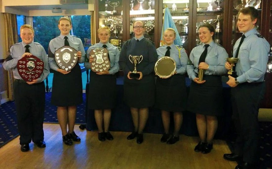 Top cadets recognised at presentation night