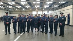 High standard set at rifle drill competition