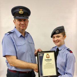 Commandants Special Commendation for 59 Squadron